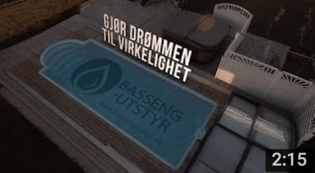 Reklamefilm Bassengutstyr AS