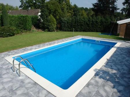 Liner 8x4x1.5 meter basseng