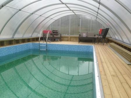 D- Til større basseng opptil 12.8m lengde