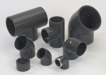 PVC-rørdeler