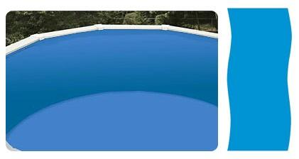 Liner 7.11x3.66 meter oval (uvanlig størrelse)